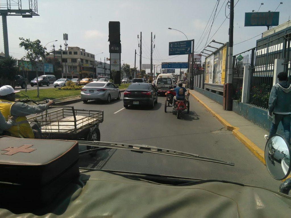 ペルー 交通